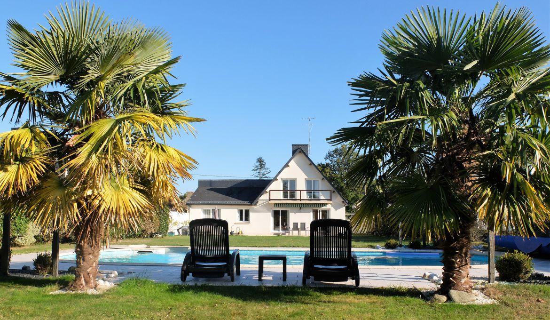 Vente Maison Contemporaine Avec Piscine Golfe Du Morbihan Pierres