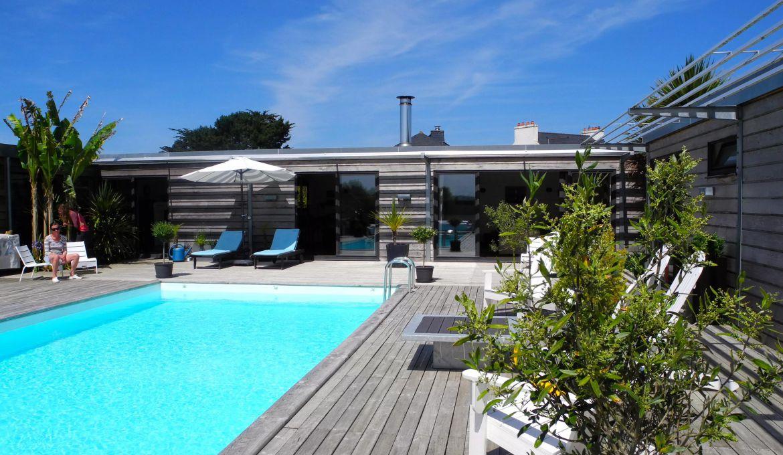 vente maison d'architecte locquirec bord de mer - pierres et mer
